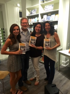 My family and I at M. Judson Bookstore