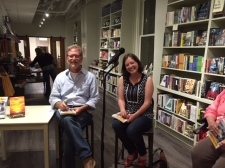 Terry Barr and Joni Tevis at M Judson Bookstore