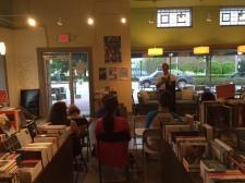 Reading at Hub City Books