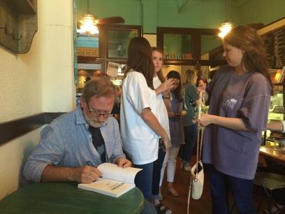 Book signing at YoCup